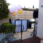 DJ Jason Collins Mobile DJ Services - Portable setup at a party