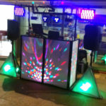 Mobile DJ with lights